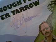 Yarrow, Peter  Thats Enough For Me 1973 LP Signed Autograph Peter Paul And Mary
