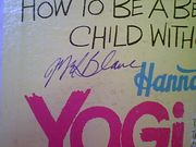 Yogi Bear How To Be Better Than The Average Child Without Trying 1962 LP Signed Mel Blanc Daws Butler Don Messick Autograph Hanna Barbera