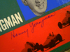 "Youngman, Henny  ""Horse & Auto Race Game"" LP 1950'S Signed Autograph Box Set With Felt Board"