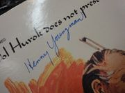 Youngman, Henny  The Best Of The Worst 1970 LP Signed Autograph