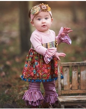Haute Baby Gypsy Autumn Two Piece Swing Set