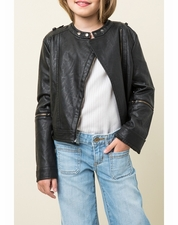 Hayden Los Angeles Pleather Moto Jacket