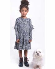 Imoga Collection Navy Floral Dress