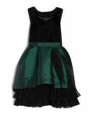 Isobella & Chloe Emerald Castle Dress
