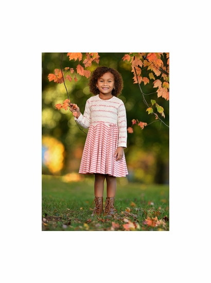 Isobella & Chloe Strawberry Creme Dress SIZE 5