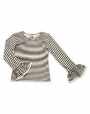 Little Prim Ticking Stripe Elodie Layering TOP