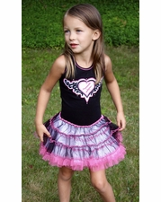 Ooh La La Couture Candy Pink Tattoo Birthday Dress SIZE 10
