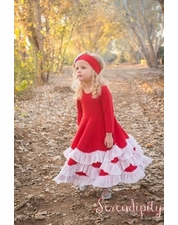 Serendipity Red Dress & Headband