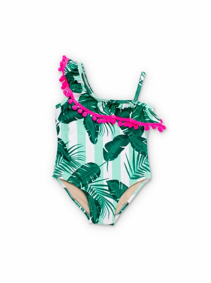 Shade Critters Ruffle Botanical Swimsuit PREORDER