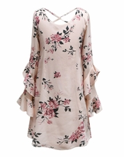Truly Me A Line Floral Dress SIZE 12
