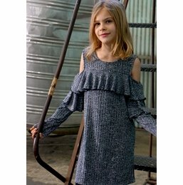 00931cf4dfd1 Truly Me Cold Shoulder Dress