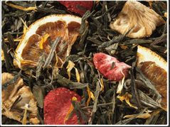 Strawberry/Pineapple Green/White Tea Blend Premium Tea