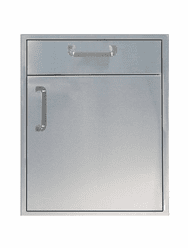 "200 Series BBq Island 21"" under counter combo unit Stainless steel"