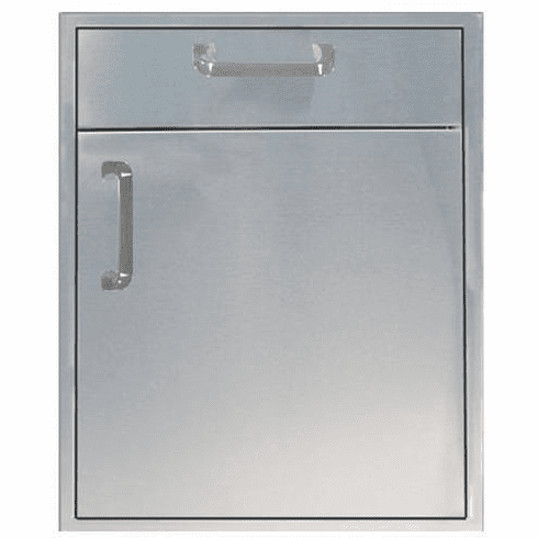 """200 Series BBq Island 21"""" under counter combo unit Stainless steel"""