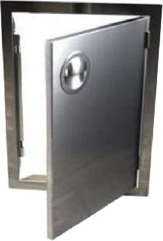 200 Series BBQ Island access Door17X24 Stainless Steel Vertical,