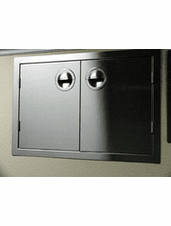 "200 Series BBQ Island  Double Access Door 42 ""  Stainless Steel"