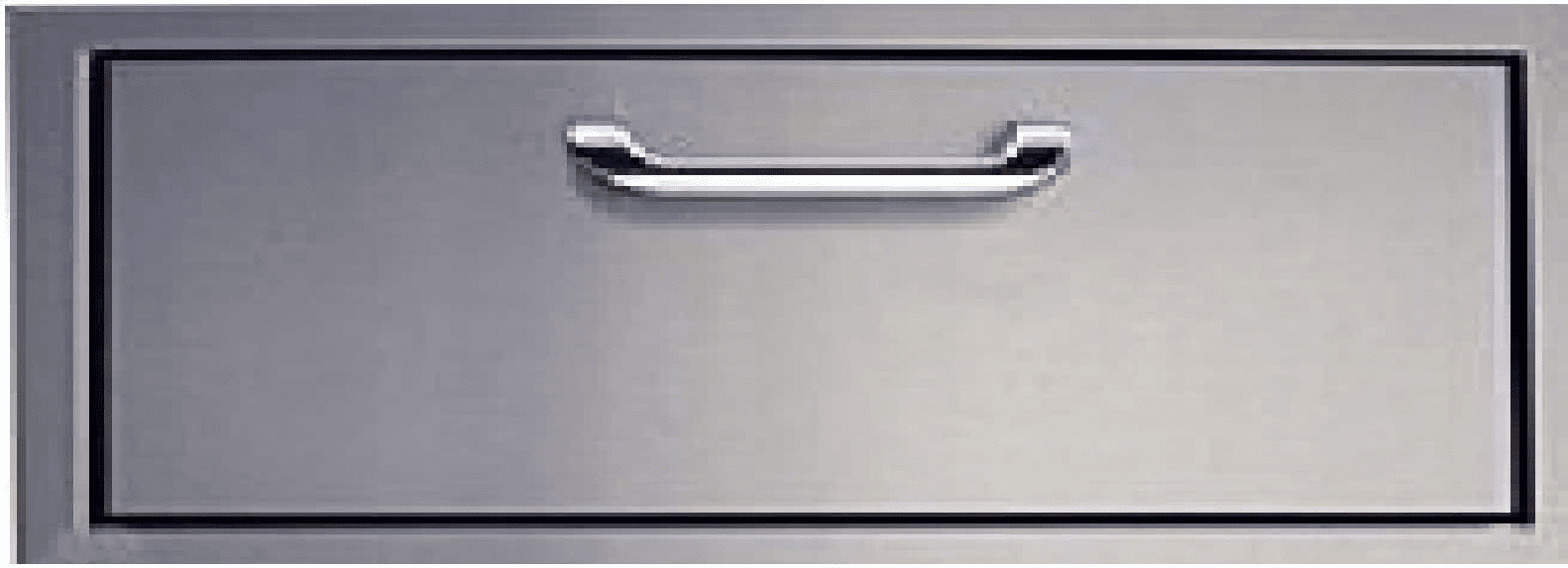 "260 Series Barbeque Island  1 Drawer 15"" Tall Stainless Steel"