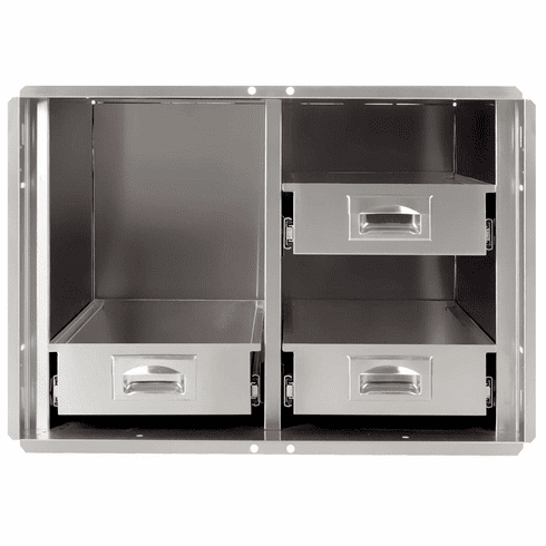 """400 Series BBQ Island pantry inserts 42"""" stainless steel"""
