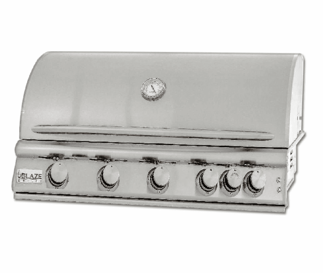 5 Burner 40 Inch Built In Grill Propane Gas BLZ5LTE2-LP