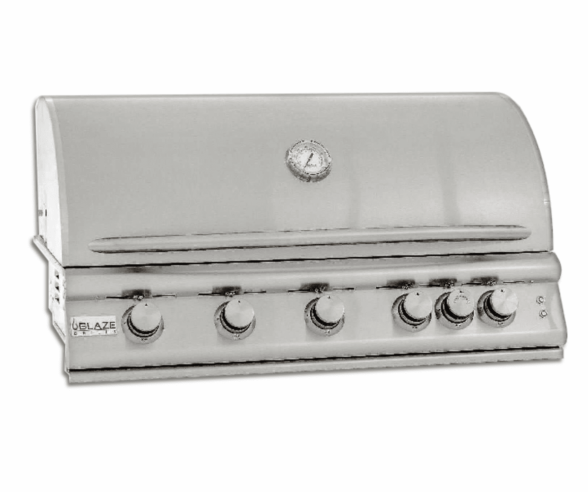 5 Burner 40 inch Built in Grill Propane Gas BLZ5LTE-LP