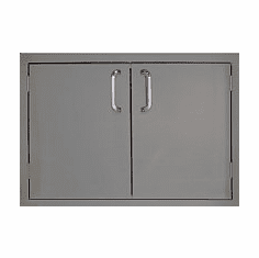 "Access Door PCM260-30 series BBQ island Double 30"" stainless steel"