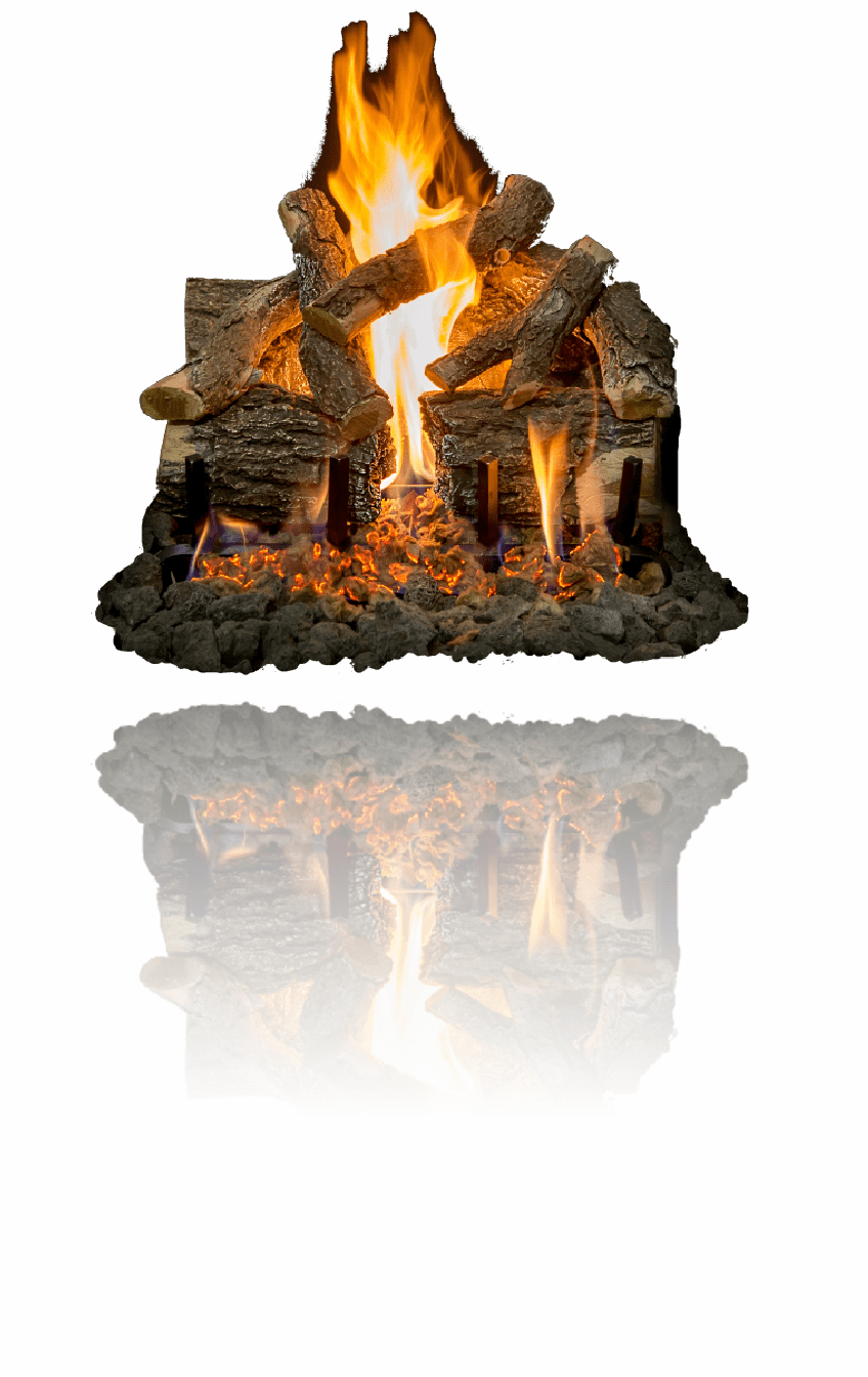 Arizona Weathered Oak Charred Gas Logs