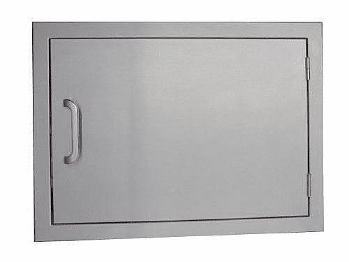 BBQ island access door 14 X 20 Horizontal stainless steel 1/ea