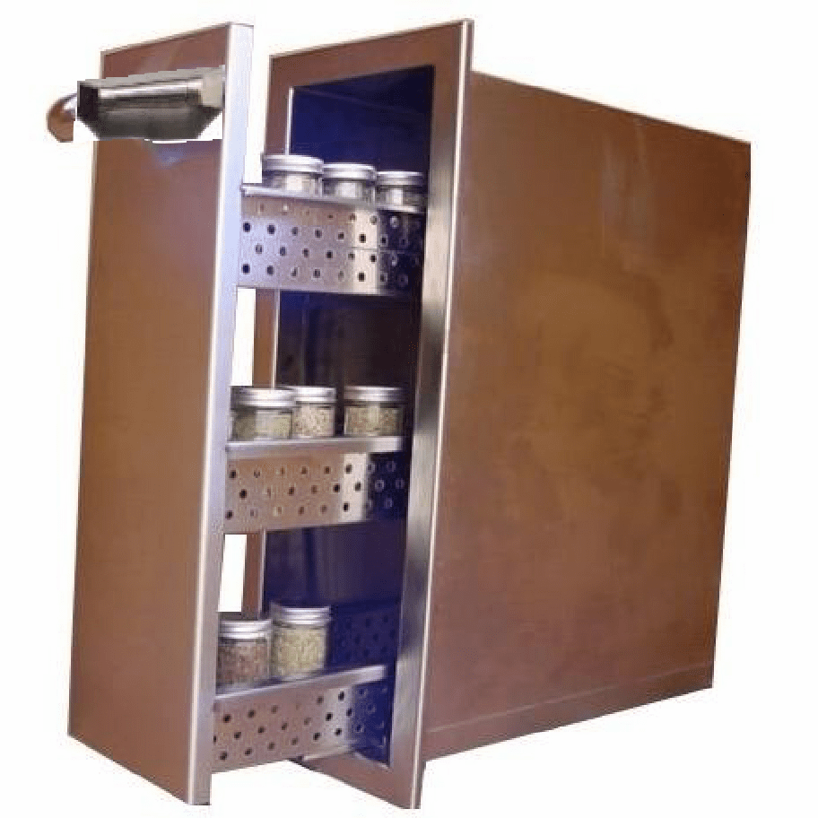 BBQ Island Spice rack drawer 300H series Stainless steel