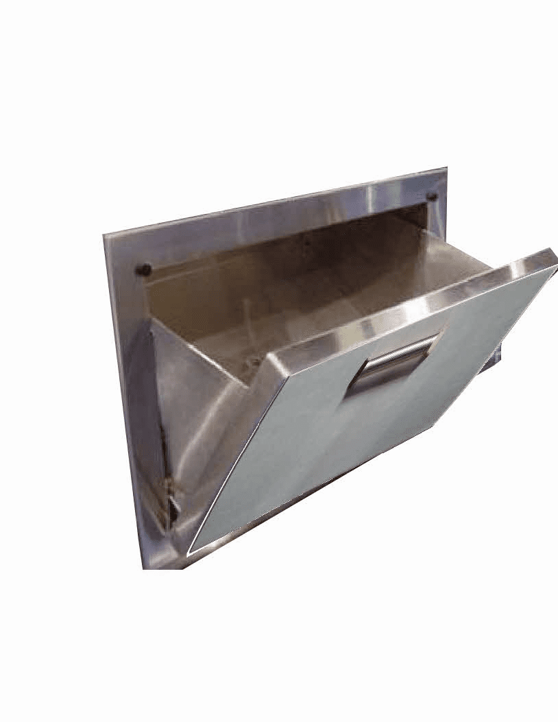 BBQ Island Tilt out ice drawer 300H Series Stainless Steel