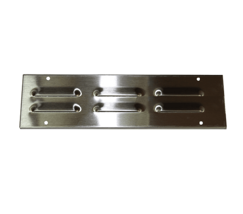 """BBQ Island vent stainless steel 12"""" X 3"""""""