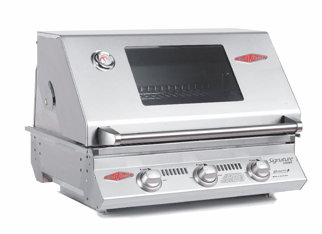 Beefeater · Signature S3000S · 3 Burner Premium Stainless Built-In Barbecue