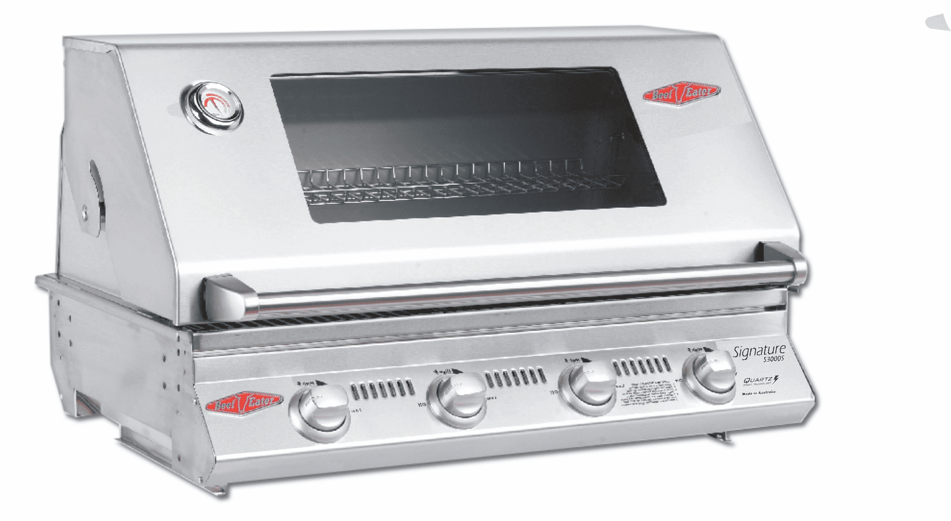 Beefeater 12840s Signature S3000 Premium 4 burner Built in grill