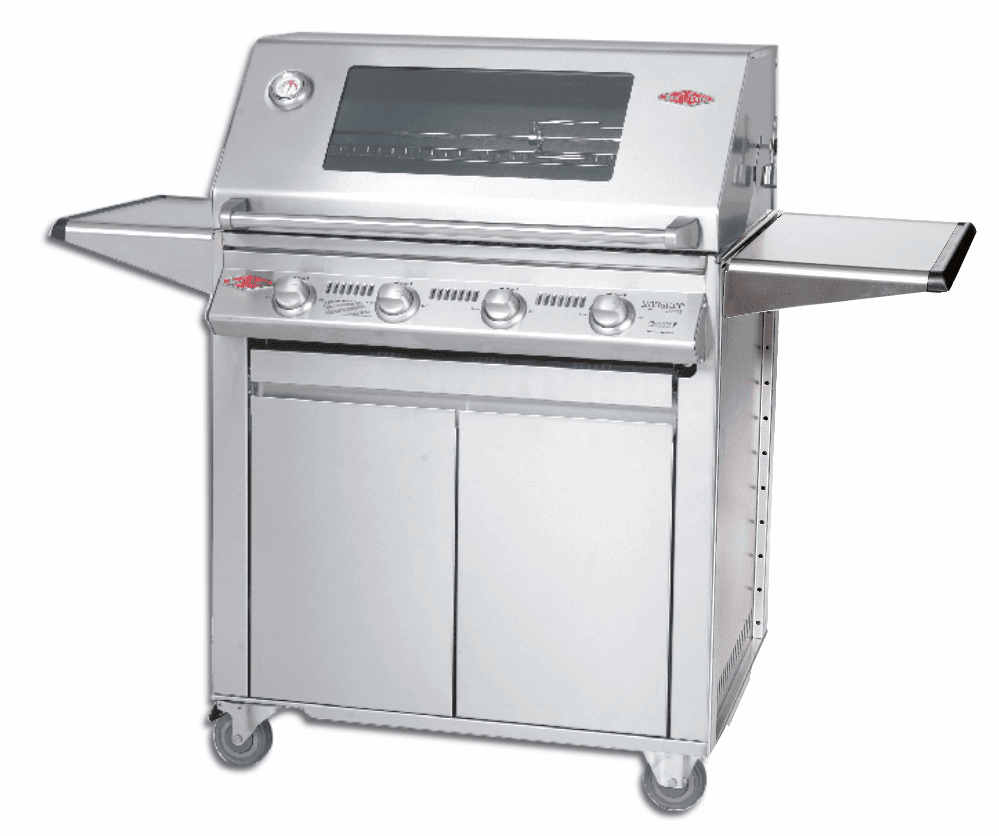 Beefeater 13840s 4 Burner Signature Premium Grill and 23640 Cart