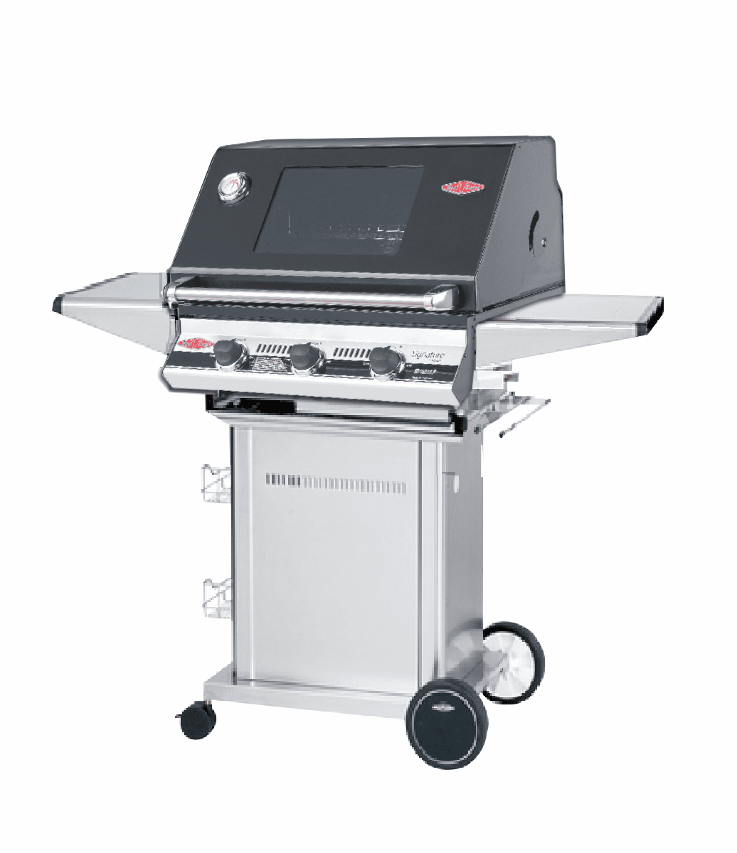 Beefeater 19832 3 burner Signature with 22130 S/S Pedestal package