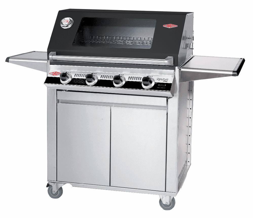 Beefeater 19842 4 burner Signature series grill w/ 23640 Designer cart