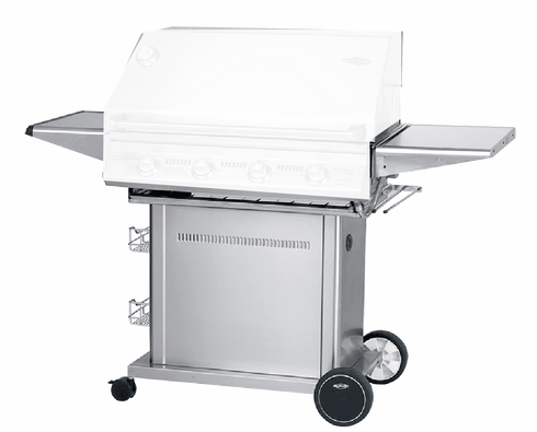 Beefeater 22140 Signature Stainless Steel Pedestal for 4 Burner