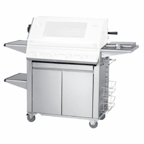 Beefeater 22640 Signature PLUS Stainless 4 burner cart / trolley