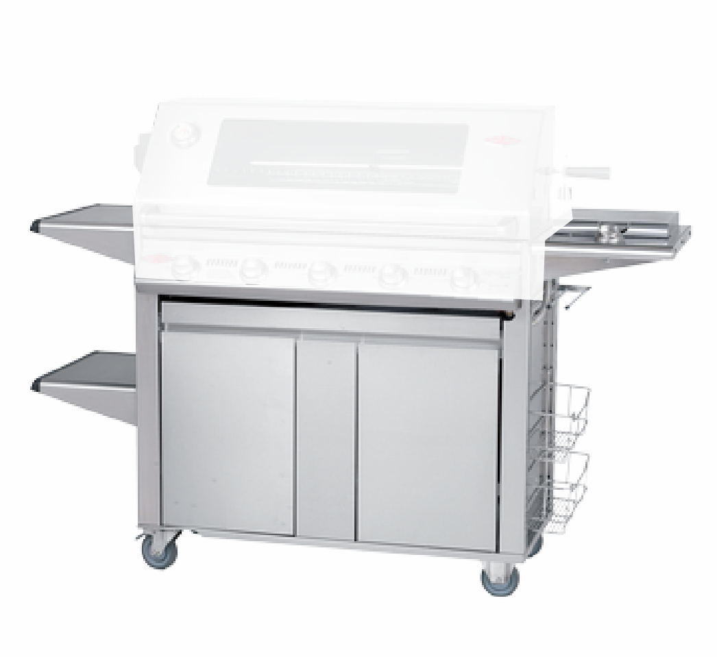Beefeater 22650 Signature PLUS Stainless 5 burner cart / trolley