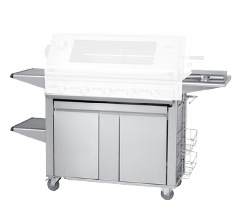 Beefeater 22650 Signature PLUS Stainless 5 Burner Cart/Trolley