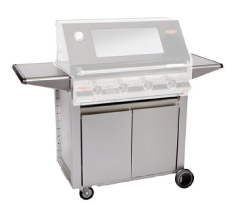 Beefeater 23640 Designer Signature Stainless 4 Burner Cart/Trolley