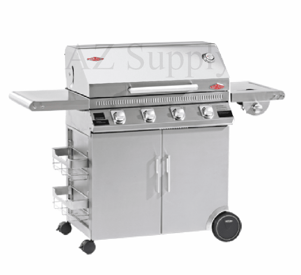 Beefeater 47940 Discovery 4 burner Stainless grill and cart