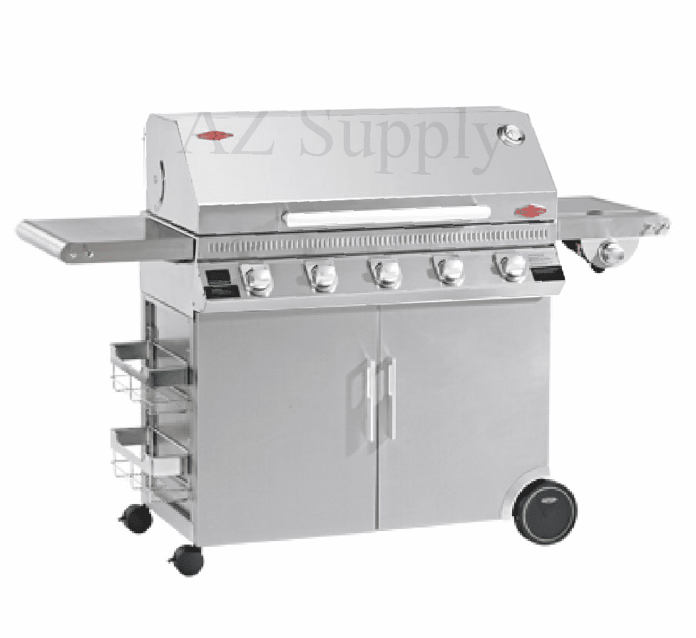 Beefeater 47950 5 burner Discovery with Stainless cart