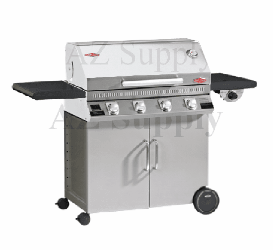 Beefeater Discovery 1100 4 burner 16340, 23842 cart package