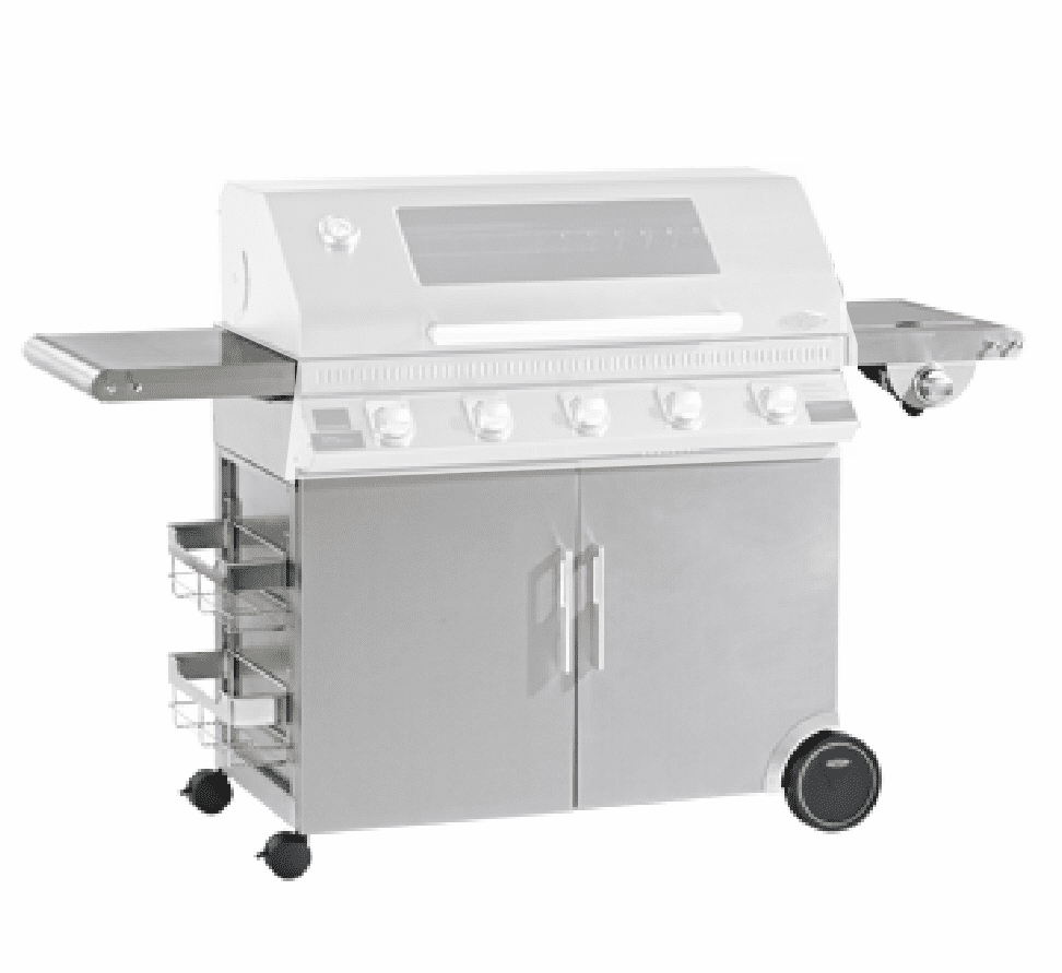 Beefeater Discovery 1100 stainless trolley/cabinet for 5 burner 23950