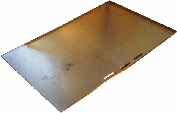 "Beefeater Parts Stainless steel Griddle 13"" 94393"
