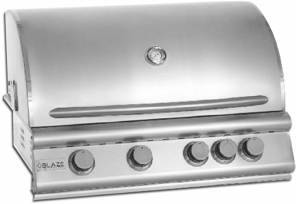 Blaze 4 Burner 32 inch Built in Grill Propane BLZ-4-LP