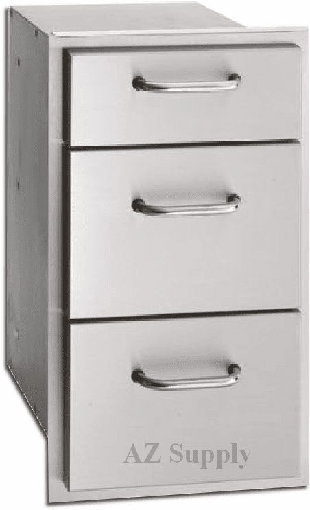 Fire Magic 3 drawer island drawers Select series 33803