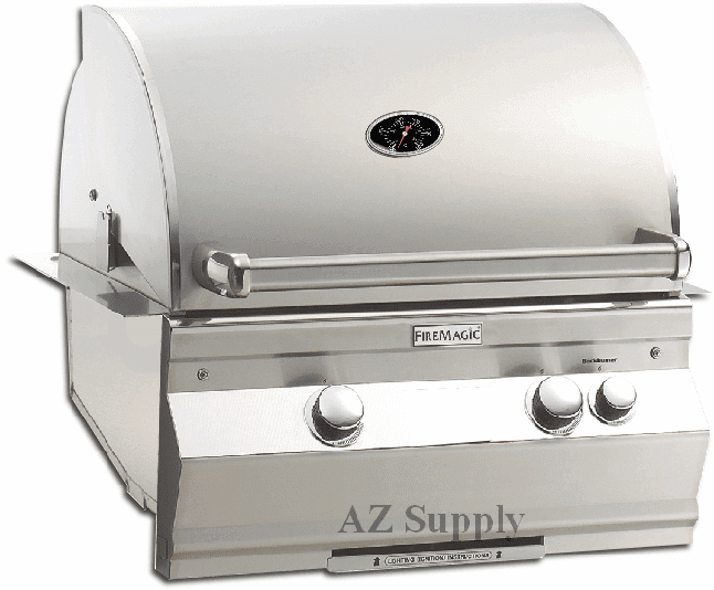 Fire Magic A530i-6ean Aurora built in grill  with back burner