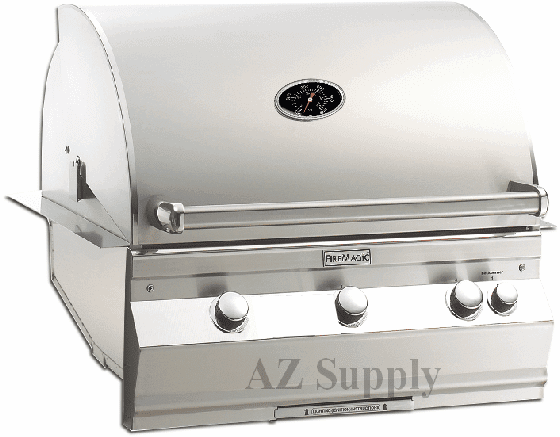 Fire Magic Aurora A660i-6EAN built in grill with back burner
