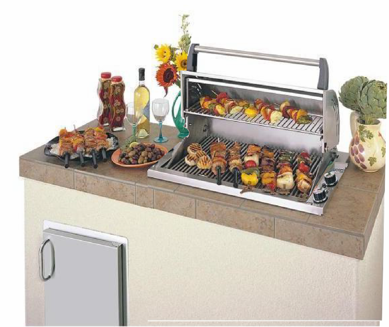 Fire Magic Deluxe countertop grill drop in 3C-S1S1N-A